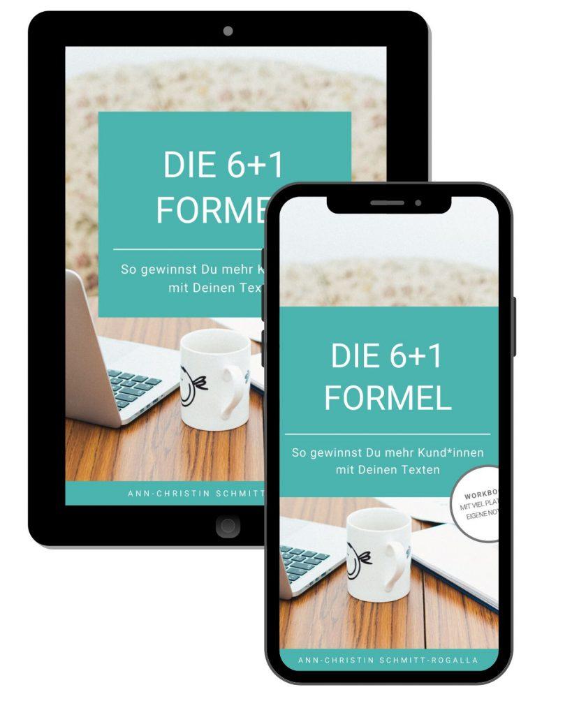 """Vorschau E-Book """"Die 6+1 Formel"""""""