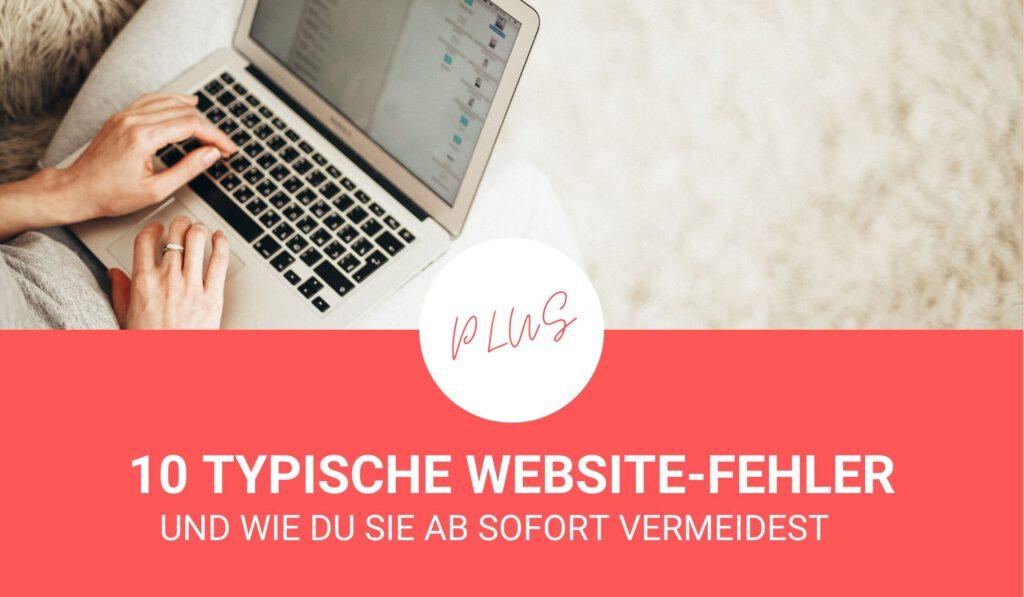 10 typische Website-Fehler